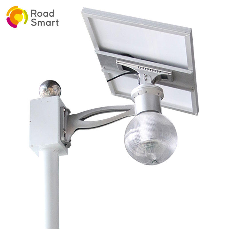 integrated outdoor solar led street garden light with lithium battery