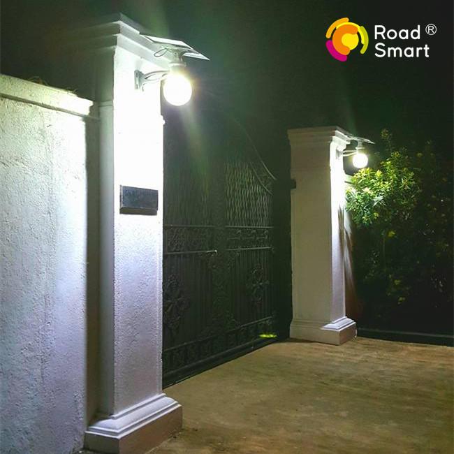 6 Work Modes Modern Moon Light LED Solar Outdoor Lamp