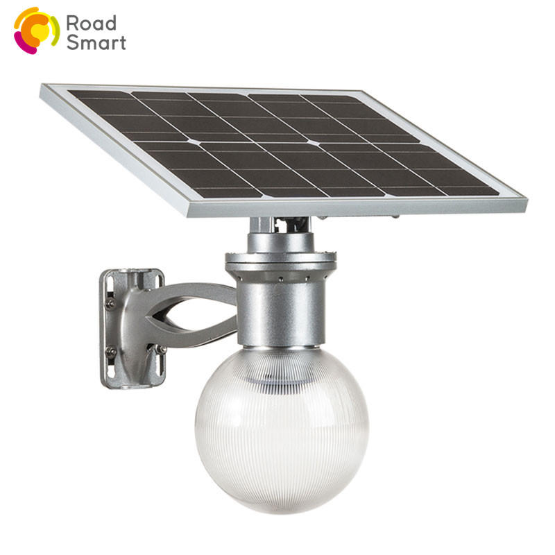 Integrated Solar LED Light for Plaza Garden with Mono Panel