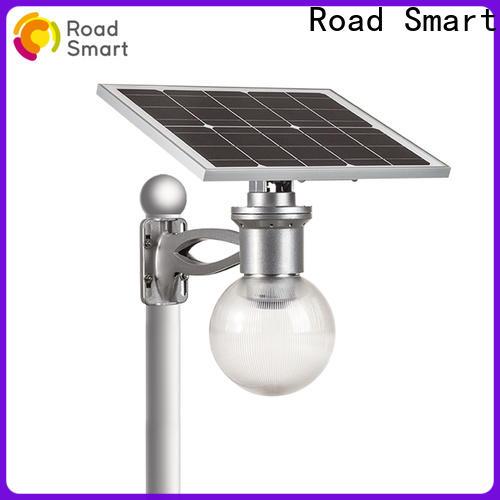 Road Smart solar powered garden lights for busniess for house