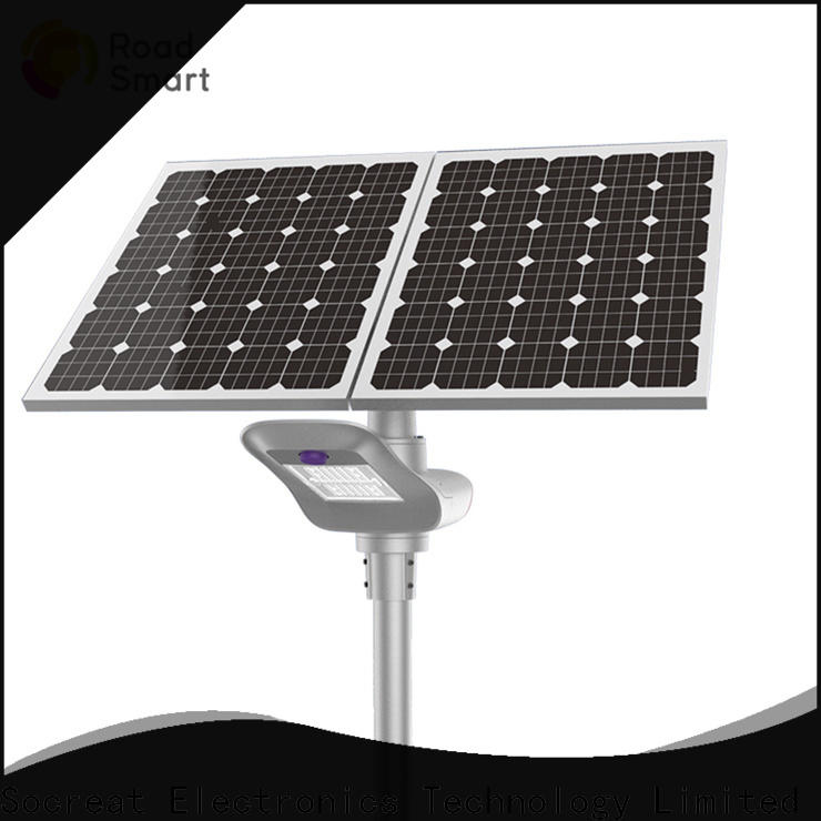 Road Smart solar powered lamp company for park