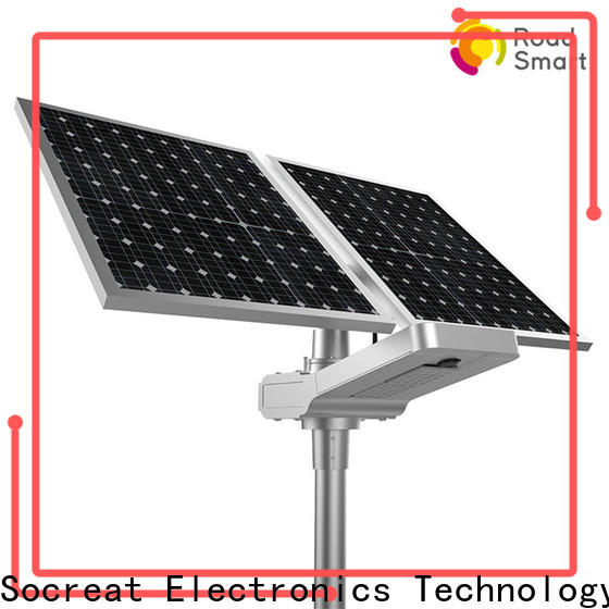 smart controller solar powered lamp manufacturer for highway