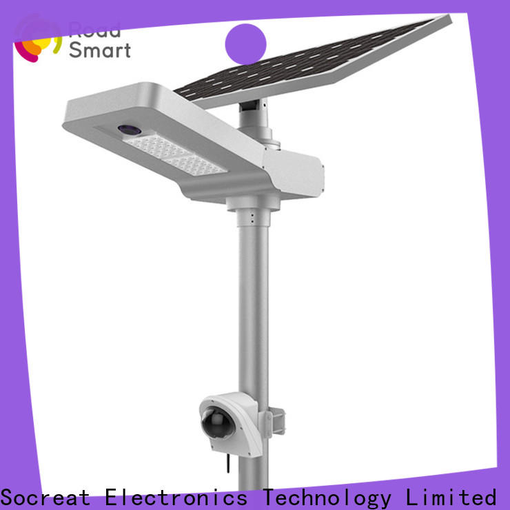 Road Smart Solar Led Security Light with light sensor for hotel