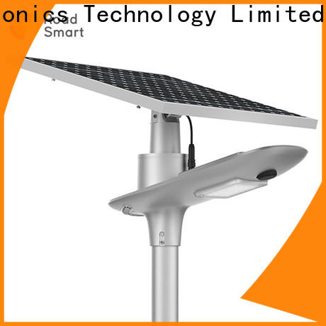 latest integrated solar street light factory for school