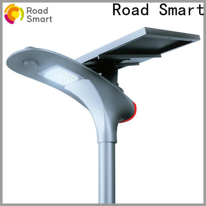 Road Smart led industrial solar lights with auto power adjust for plaza