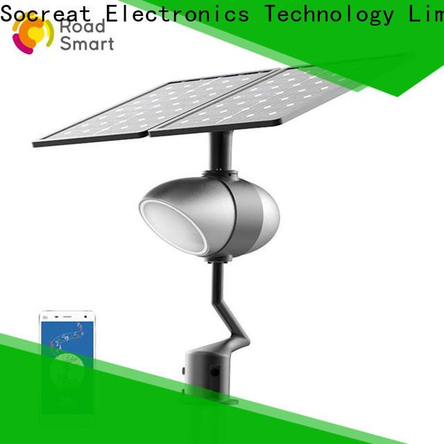 Road Smart wholesale solar garden lamps company for park