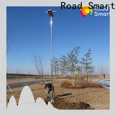 Road Smart modern solar panel outdoor lights with auto power adjust for parking lots
