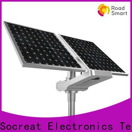 efficient solar street light project company for park