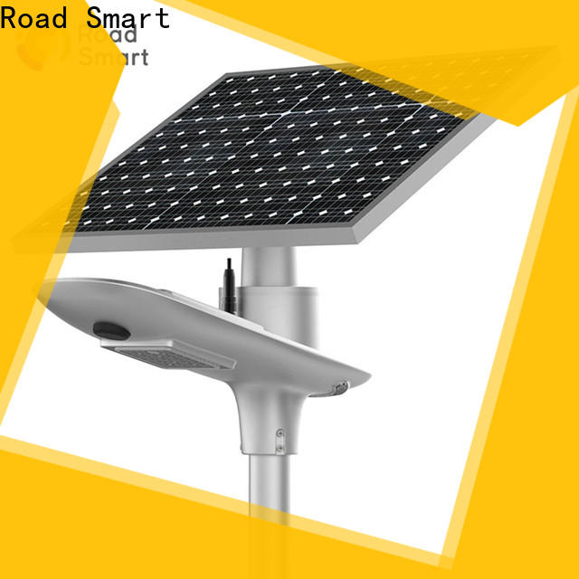 Road Smart solar led parking lot lights with liion battery for outdoor parking lot