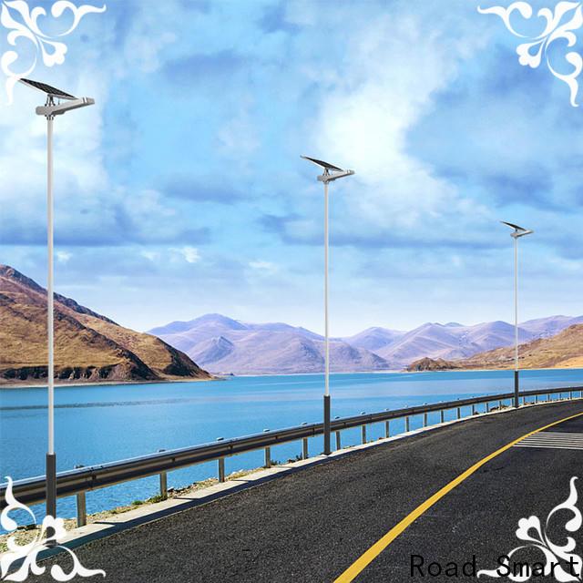 Road Smart solar panel lamp intelligent for parking lots