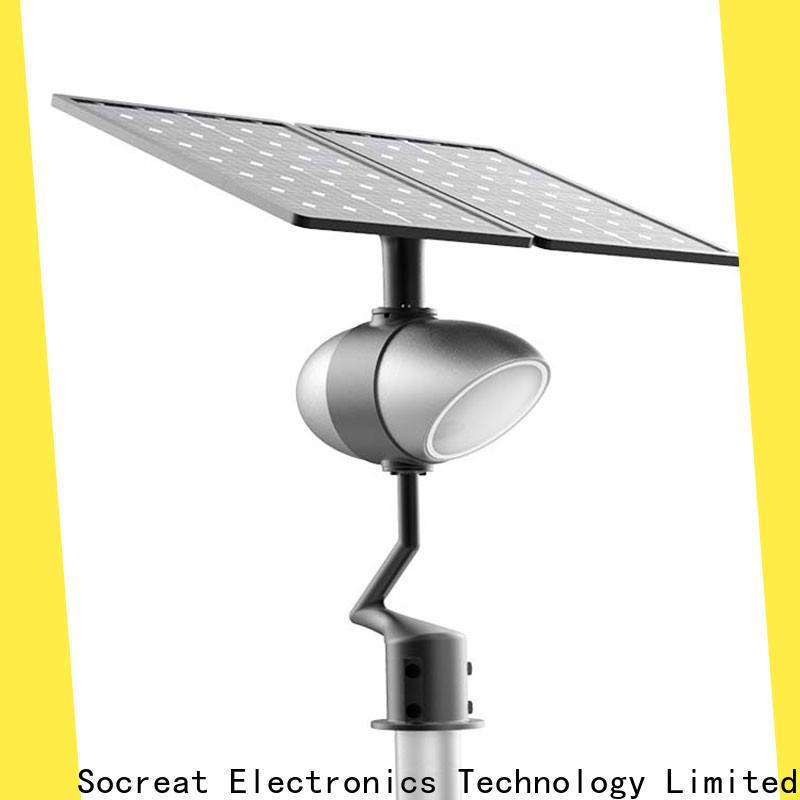 latest solar street lamp company for hotel