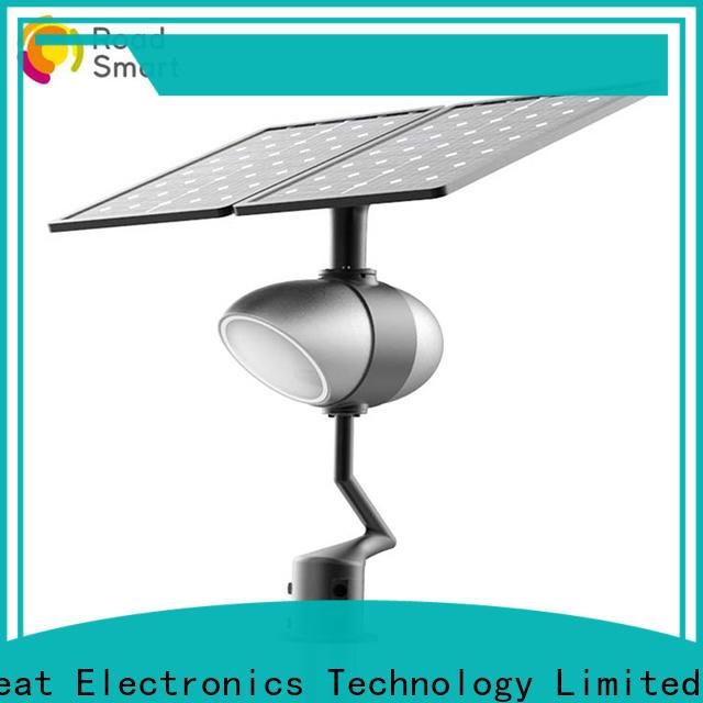 Road Smart integrated solar street lights for garden with light sensor for villa