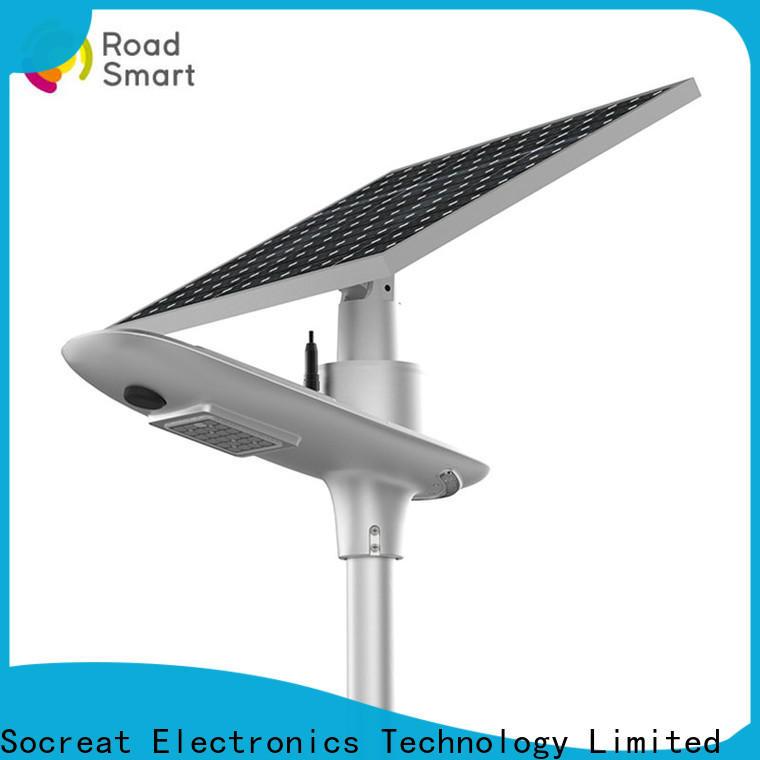 Road Smart integrated solar street light factory for park