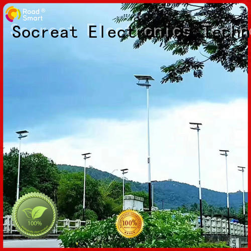 solar traffic signal light with inbuilt lithium batteries for village Road Smart