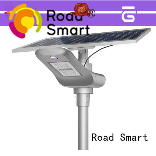 Road Smart solar powered lights supply for parking lots