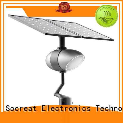 wholesale solar street lights for garden supply for park