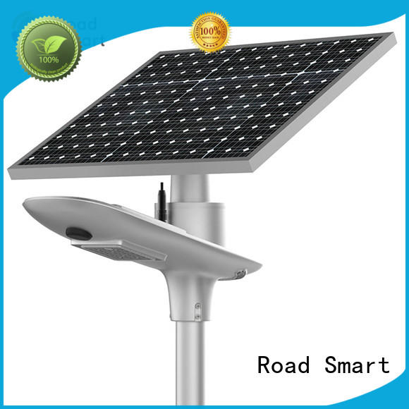 Road Smart commerical solar lighting with motion sensor for outdoor parking lot