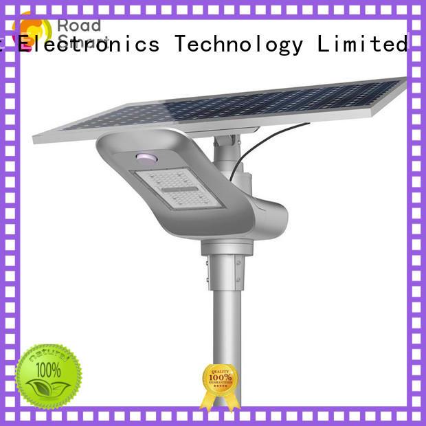 Road Smart solar motion light supplier for highway