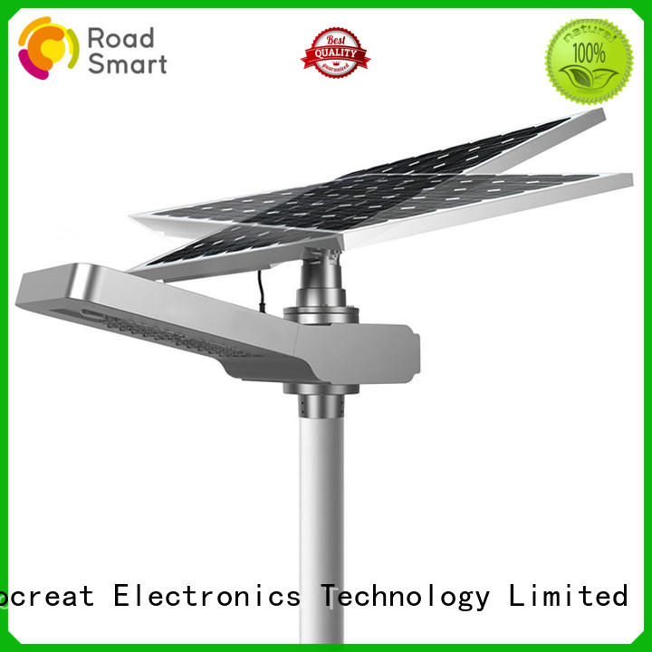 Road Smart power outdoor solar powered driveway lights good price for street