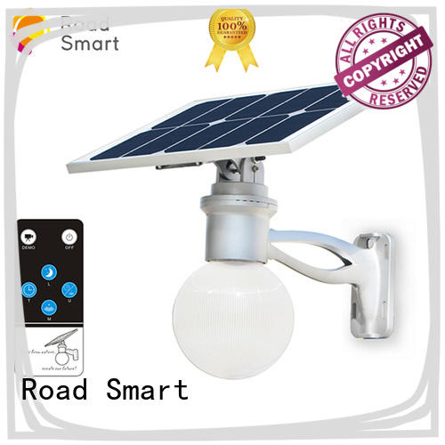 solar flood light with remote control for village Road Smart