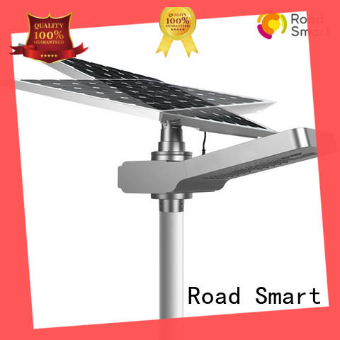 Road Smart integrated solar powered parking lot lights supplier for outdoor parking lot