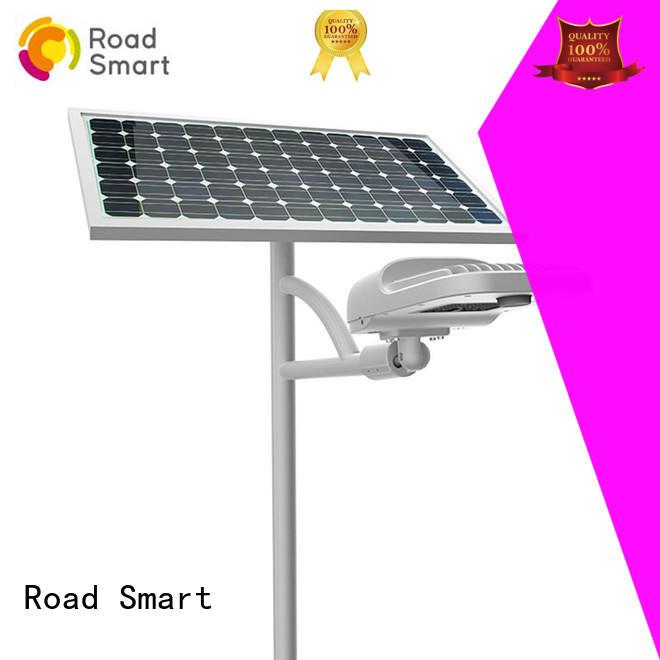 Road Smart new solar panel outdoor lights supply for school