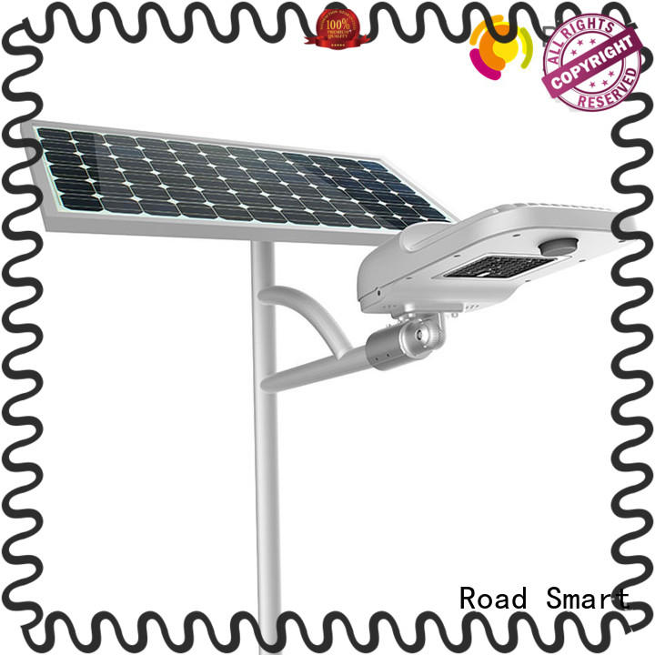 Road Smart good selling solar powered street lights supplier for pathway