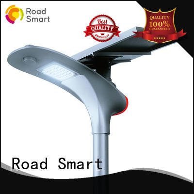 Road Smart solar panel outdoor lights for busniess for plaza