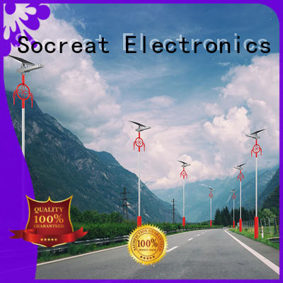 Road Smart led solar powered street lights for busniess for highway