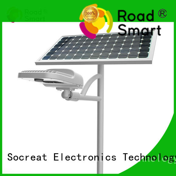control solar system outdoor solar powered driveway lights motion sensor for street Road Smart