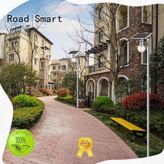 Road Smart solar night light outdoor supplier for parking lots