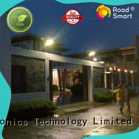 Road Smart solar powered street lights advanced for walkway