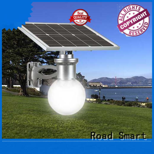 ce solar garden lamps with adjustable panel for hotel