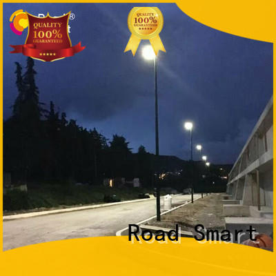 Road Smart good selling solar flood light with remote control manufacturer for sidewalk