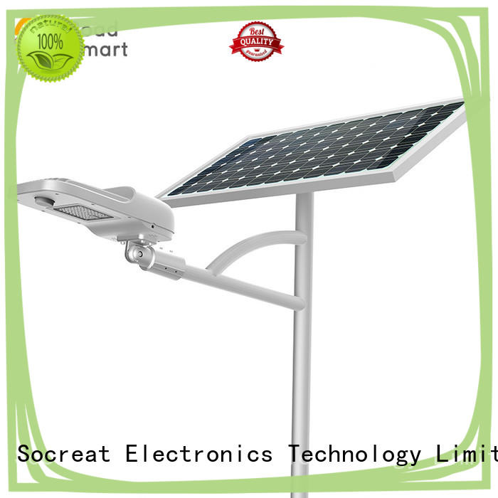Road Smart high quality solar pole lights company for street