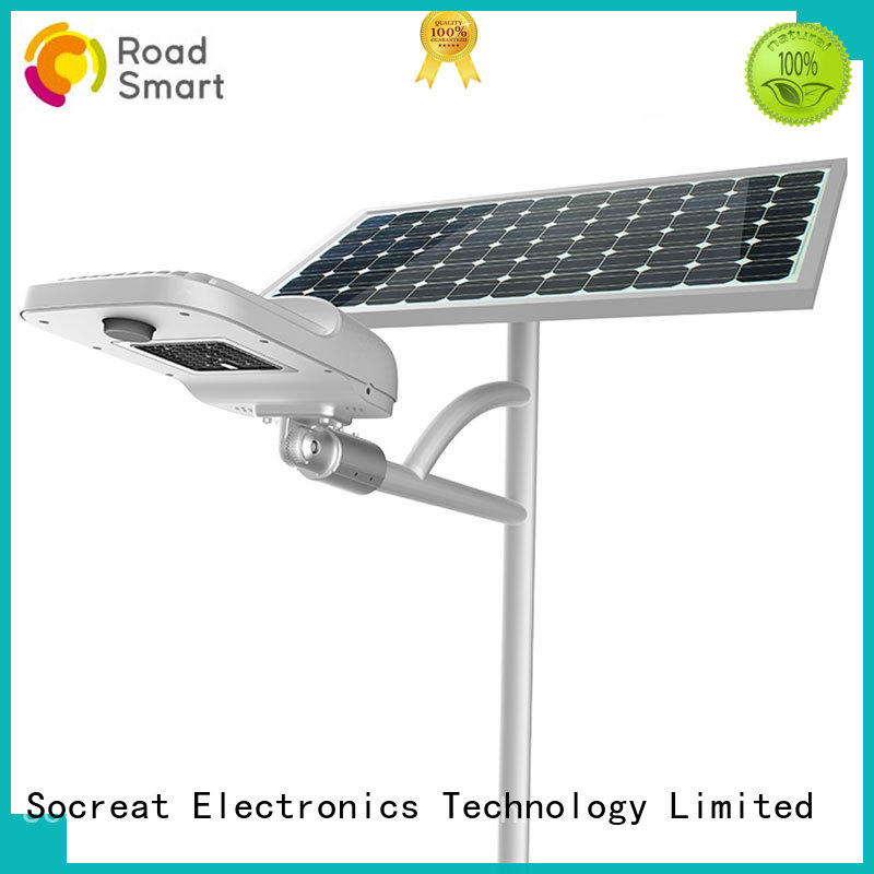 solar flood light with remote control excellent for sidewalk Road Smart