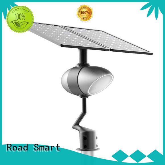 Road Smart solar street lamp with bluetooth speaker for villa
