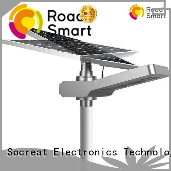 Road Smart led commerical solar lighting manufacturer for villa